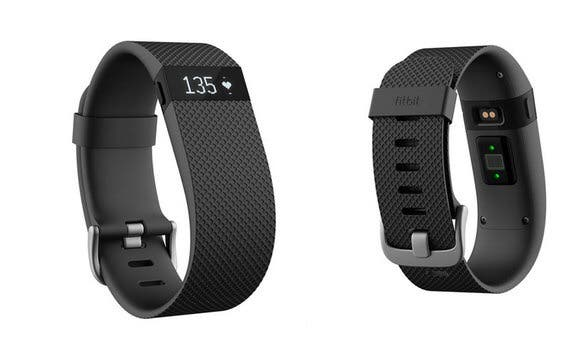 Fitbit Charge HR negra