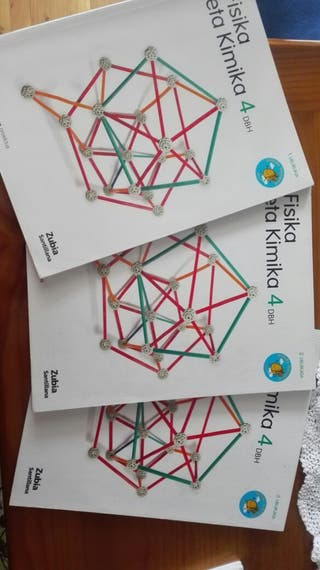 Libro de Fisika eta Kimika 4DBH