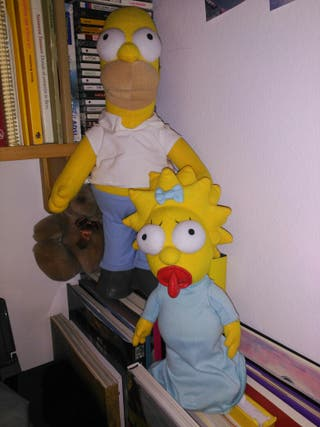 peluches simpsons homer
