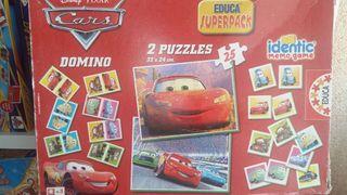 2 puzzles de cars