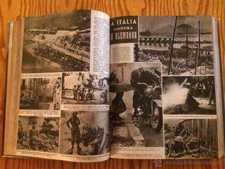 Tomo libro revista mundo gráfico años 42 43 44