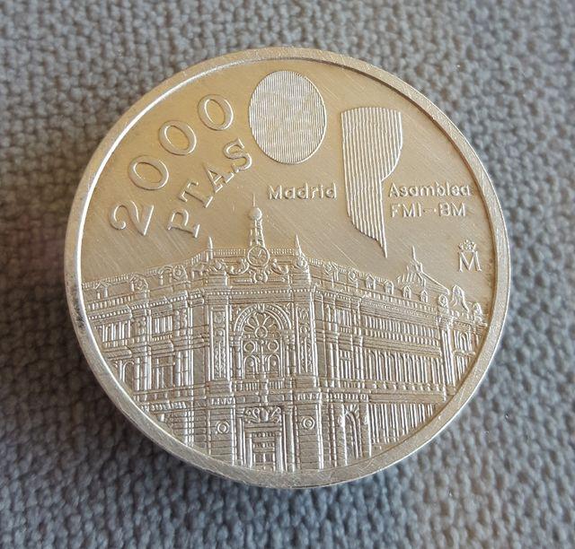 Moneda Plata 2000 Pesetas 1994 De Segunda Mano Por 45 En Granada En Wallapop