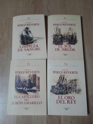 libros de Pérez-Reverte