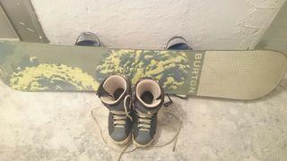 Equipo de Snow Marca Burton Tabla mas botas
