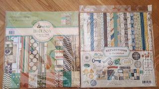 stacks scrapbooking papeles decorados 30x30 cm