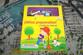 Libro Niños Preparados - Cuido la Tierra