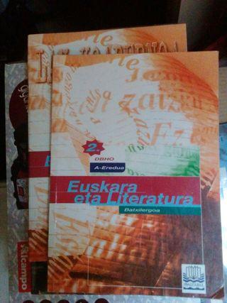 Euskara eta literatura bachillerato, bachiller