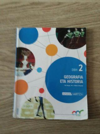 libro de geografia eta historia 2ESO