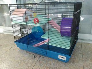 Jaula hamster, jerbo,...