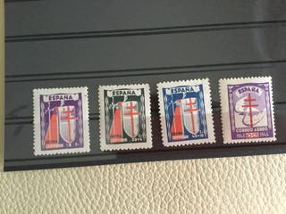 Sellos 1943. Serie 970/3.