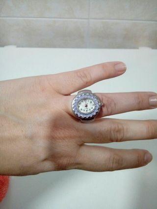 reloj de dedo