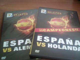 copa mundial fifa 2010 final y semifinal dvd