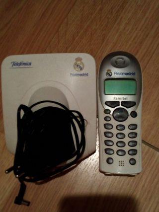 teléfono inalámbrico real madrid