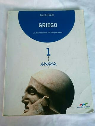 Libro Griego Bachillerato 1