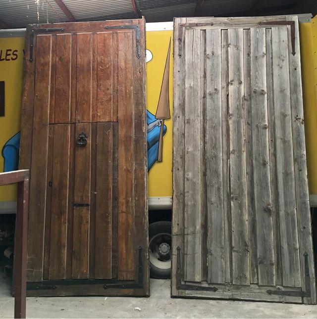 antiguos portones de madera de segunda mano por 680 en