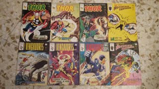 Lote de cómics de superhéroes Marvel