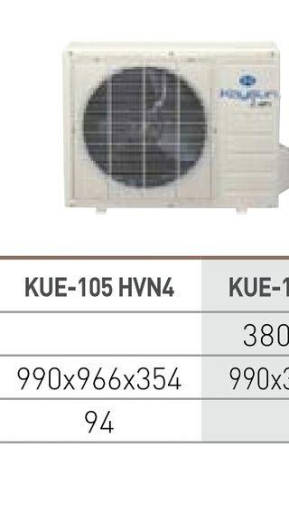 Aire acondicionado climatizador conducto KAYSUN ZE