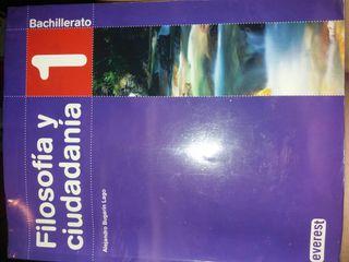 Filosofía y ciudadania 1°bachillerato