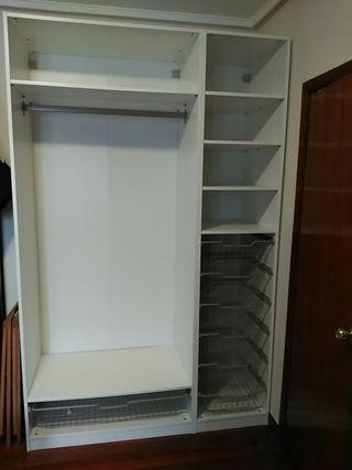 armarios blancos 100 y 50 de segunda mano por 580 On wallapop armarios