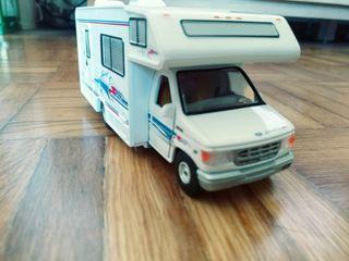 ford auto caravana maqueta 1:43 camper