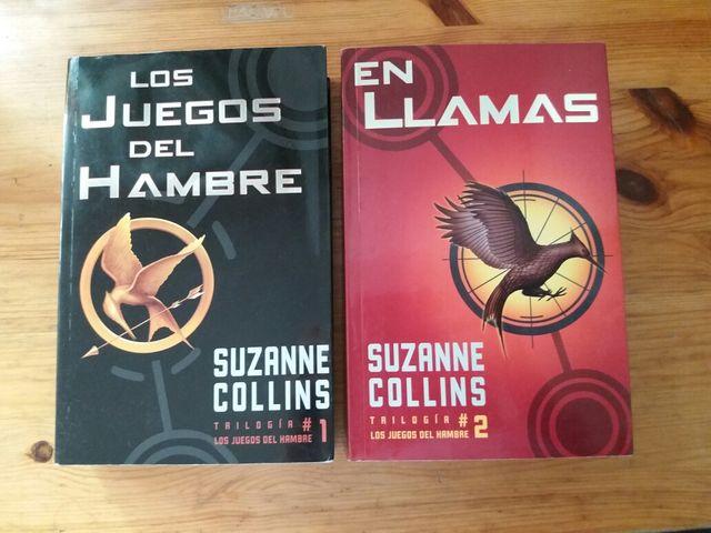 Los juegos del hambre 1 y 2 Suzanne Collins