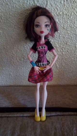 muñeca monster high draculaura save frankie