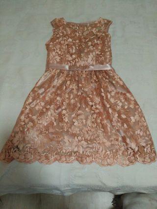 Vestido Fiesta de Encaje 42-44