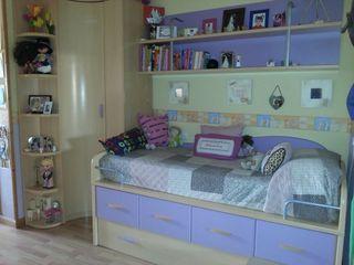 Habitacion juvenil haya lila