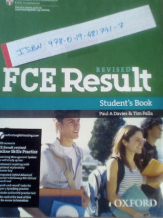 FCE Result revised NUEVO students book OXFORD
