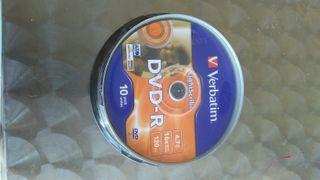 tarrina DVD-R ligthScribe Verbatim
