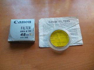 Filtro polarizador fotografico