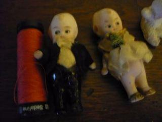 lote muñecas antiguas en miniatura