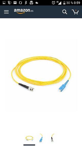 Cable fibra óptica NUEVO
