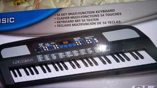 Teclado musical órgano