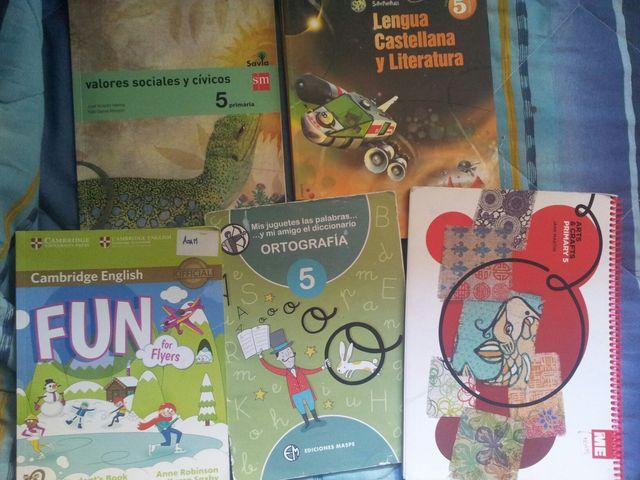 Libros 5º primaria