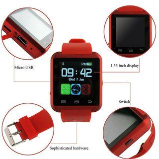 Reloj smartwatch rojo