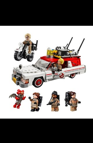 Cazafantasmas Ecto-1 compatible Lego