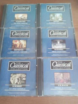6 cd the classical collection