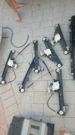 elevalunas delantero y traseros bmw serie 5