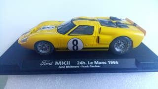 Coche slot scalextric Ford MKII 24h Le Mans