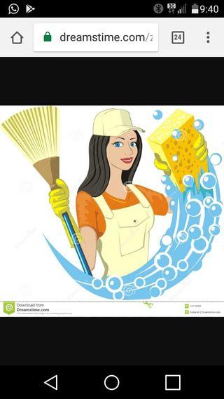 Chica de la limpieza zona de monzon