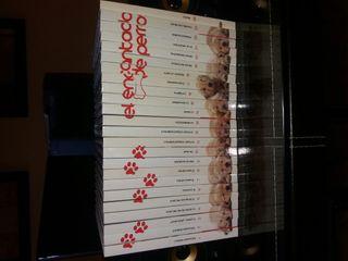 25 libros con su dvd cada uno.Encantador de perros