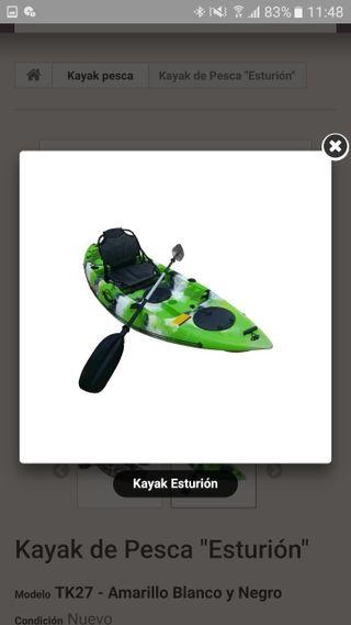kayak, se venden y reparan kayak de polietileno,