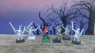 bailarines elfos silvanos warhammer