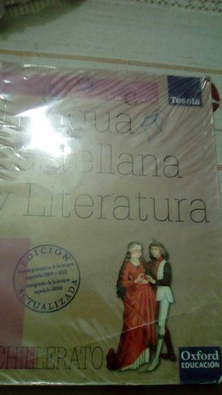 Libro Lengua y literatura 1°bachillerato
