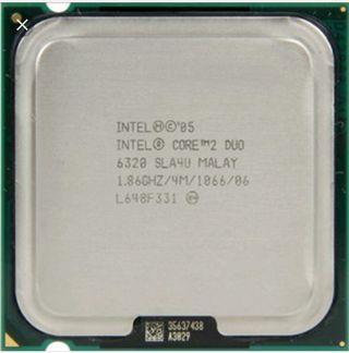 intel core duo 2 E6320