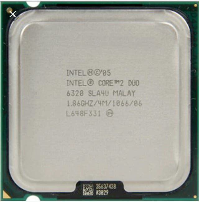 intel core duo 2 E6320