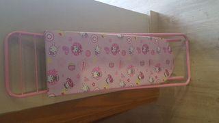 tabla de plancha con plancha
