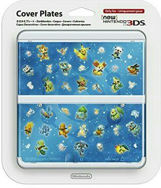 Carcasa Pokemon New Nintendo 3ds