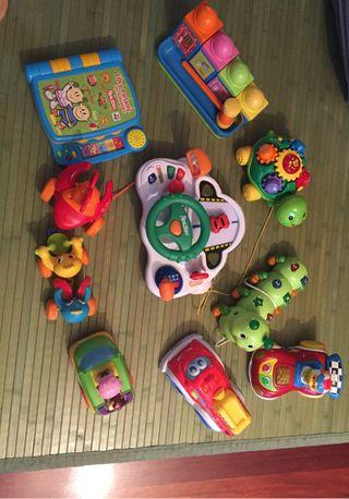 Lote juguetes aprendizaje